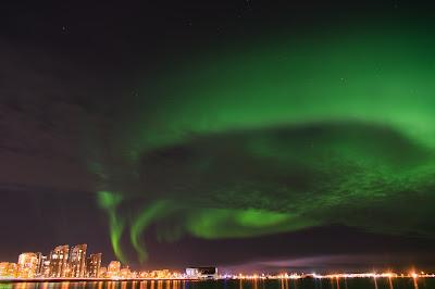 Auroras boreales en Islandia. ¿Cómo verlas?