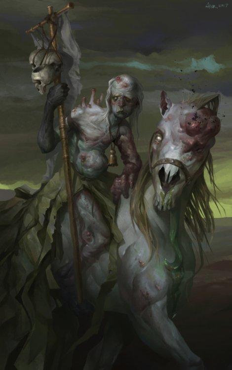 Alexey Kruglov artstation arte ilustrações fantasia ficção científica games sombrio