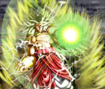 Dragon Ball Z Broly Super Saiyan