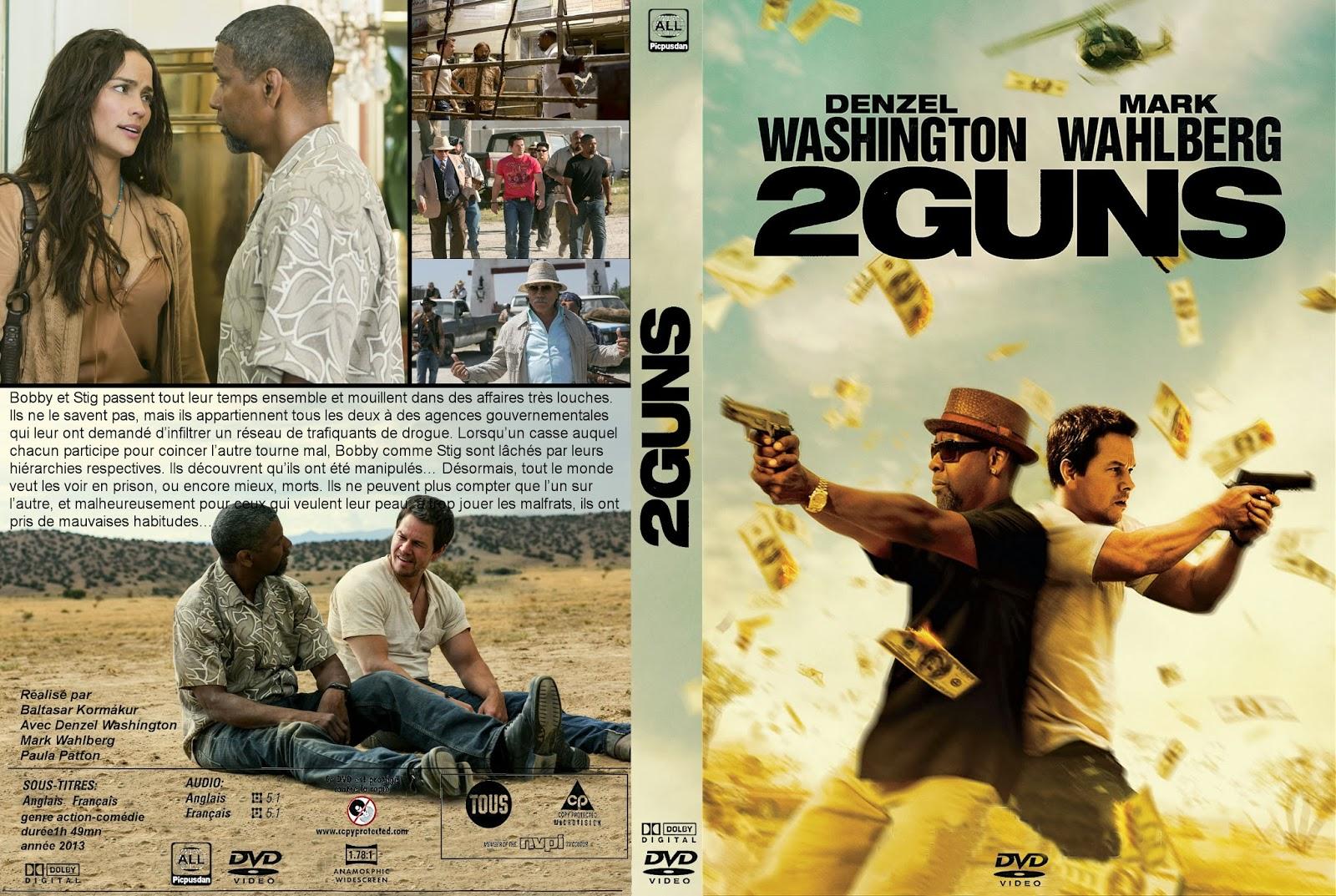 jackette dvd: 2GUNS2 Guns Blu Ray Cover