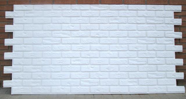 Panneaux Bristol Brique XL Blanc