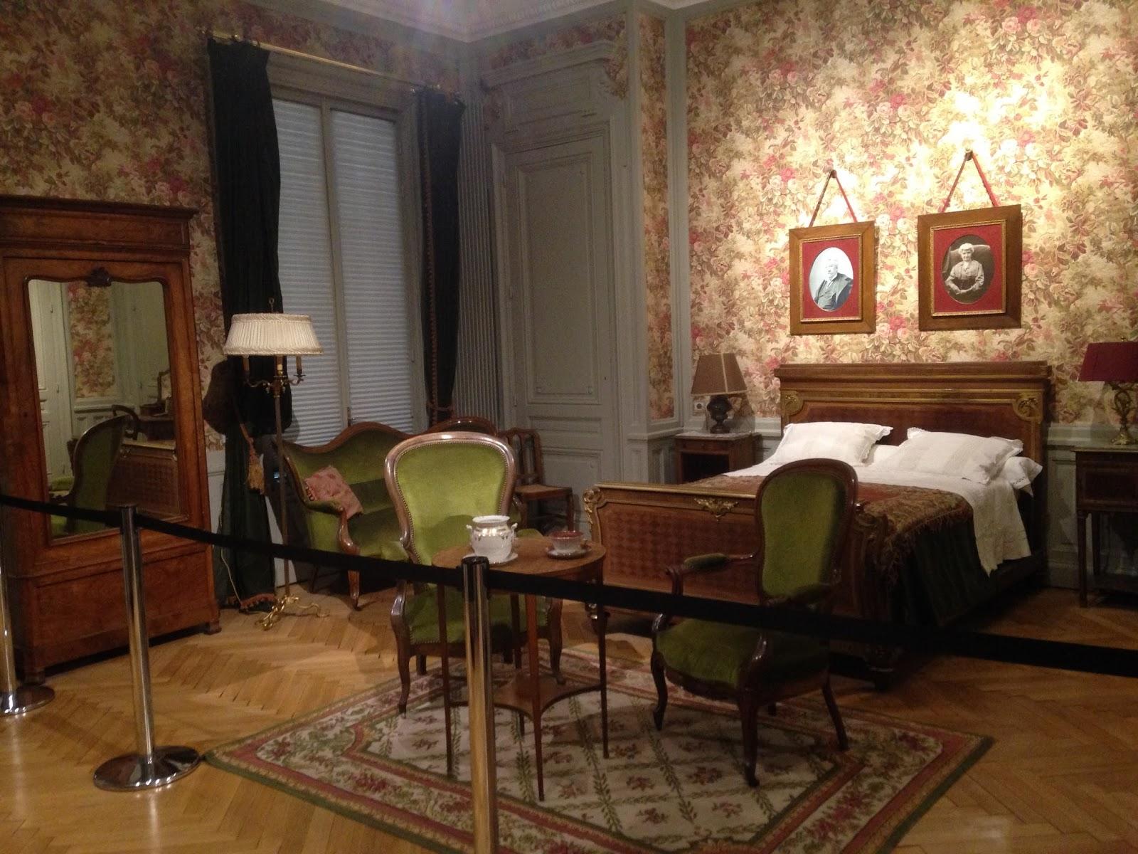 Chambre d'Antoine Lumière