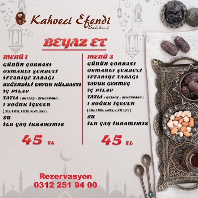 batıkent kahveci efendi iftar menüsü ankara batıkent iftar menüleri ankara iftar menüleri ve fiyatları