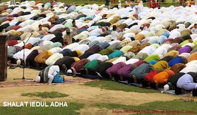 Niat dan TataCara Sholat Idul Adha