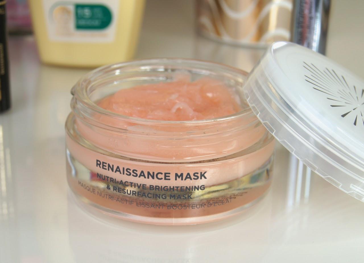 oskia renaissance brightening resurfacing exfoliating face mask review