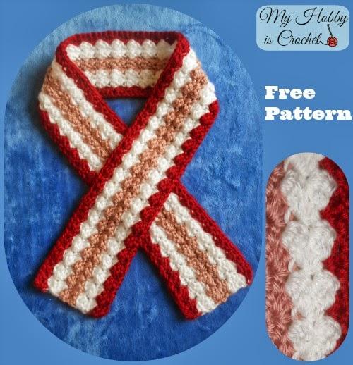 Valentine Scarf - Free Crochet Pattern
