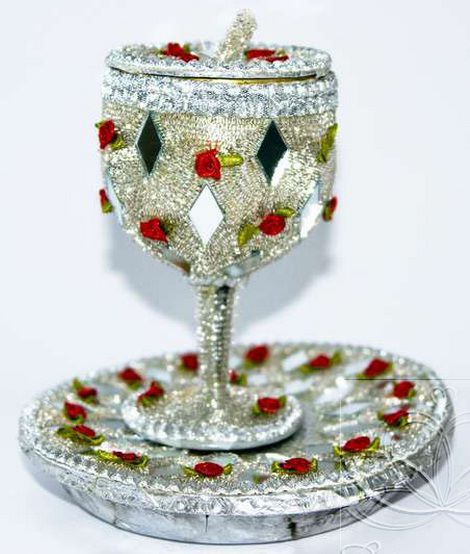 Glass Decorations: Best Ideas For Doodh Pilai Glass