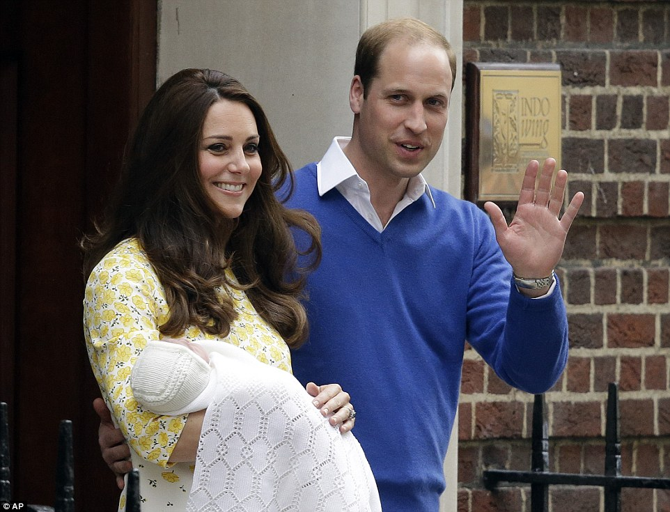 Kate and William, new princess, British monarchy