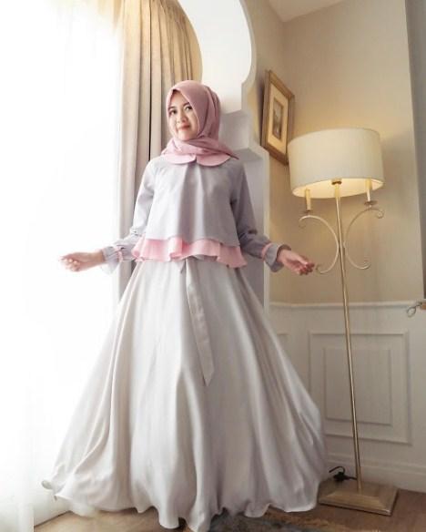 Model Baju Pesta Simple Muslim Ide Hijab Syar I