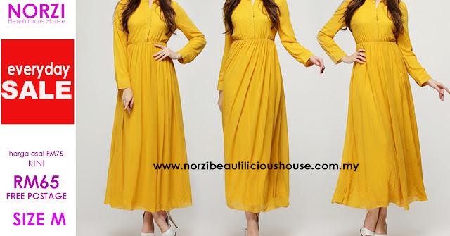 baju muslimah jubah maxi dress cantik anggun mengandung menyusukan anak wudhuk