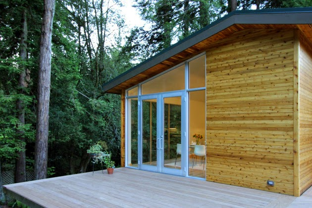 Desain Rumah Sederhana dengan Dinding Kayu & Desain Rumah Sederhana dengan Dinding Kayu - Rancangan Desain ...