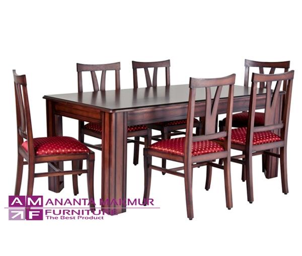 harga meja makan kayu jati