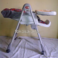 1 High Chair BabyDoes CH10 dengan Multi-position Recliner