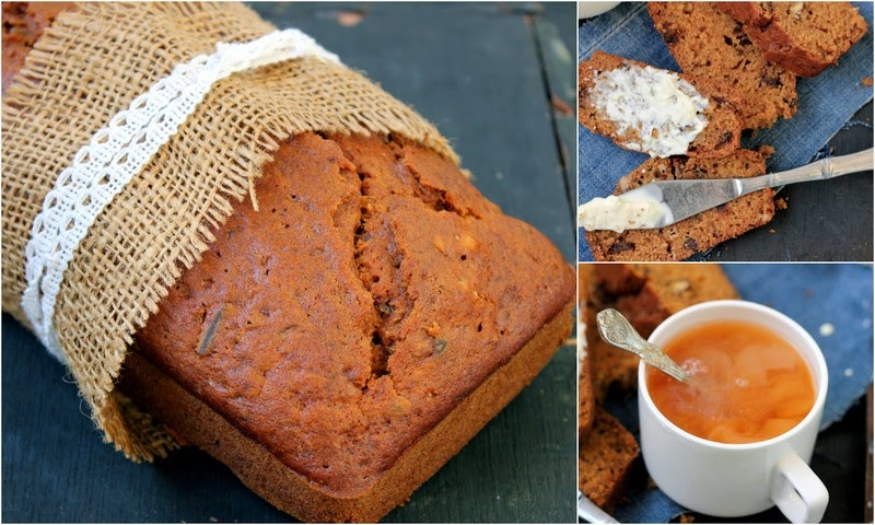 Date & Nut Quick Bread Recipe