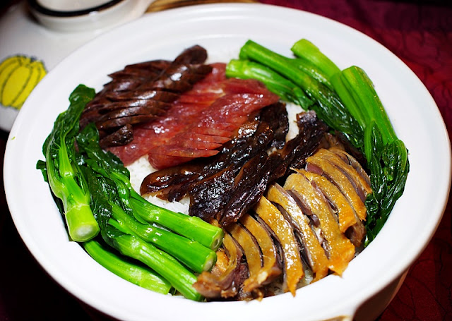 Li Yen CNY 2019 Menu - Steamed Clay Pot Rice with Chinese Waxed Meat