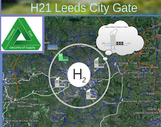 "Leeds hydrogen city plan involves building ""steam methane reformer"" plants around the city to remove the carbon from methane in the national gas grid."