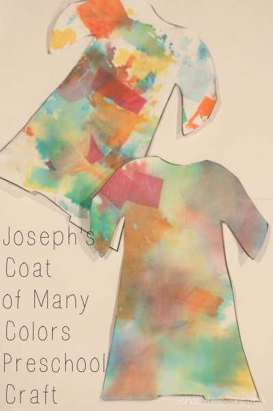 Josephs Coat of Many Colors Bible Story Craft