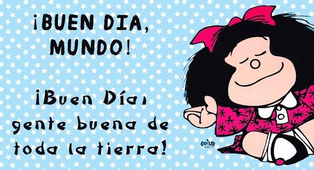 50 frases de Mafalda cargadas de humor, crítica social  e ironía