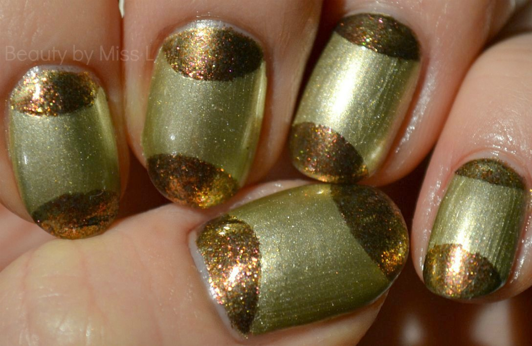 half-moon manicure, notd, nails of the day