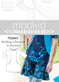 Modkid Aubrey with a Flounce