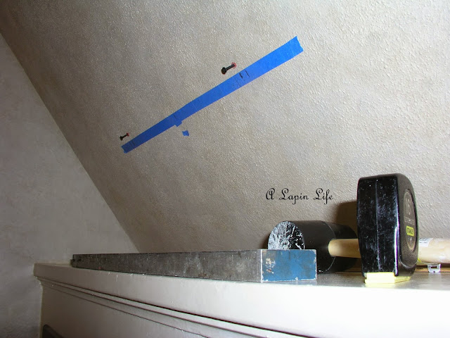 A Lapin Life How To Decorate Slanted Walls