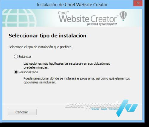 Website Creator X7 Español Versión 13.50.0100