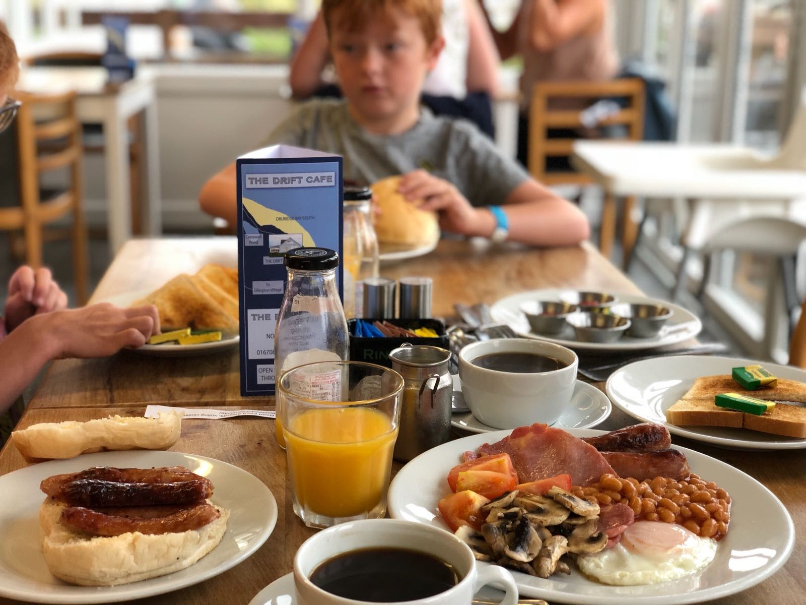 Coastal Adventures in Northumberland with Parkdean Resorts - The Drift Cafe, Cresswell Breafast
