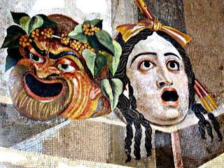 Древние театральные маски