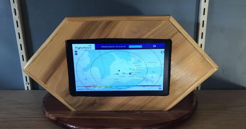 Small Workshop Chronicles: PiAware Radar Kiosk