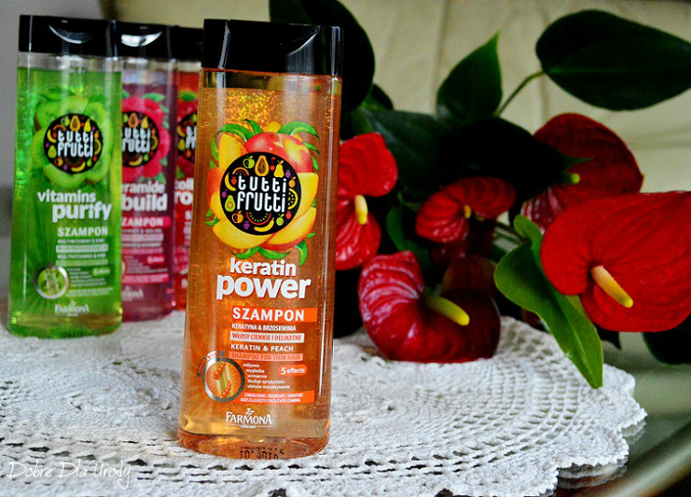 Farmona Tutti Frutti Keratin Power
