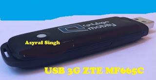 USB 3G ZTE MF665C