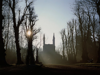 chapel, nunhead cemetery, London