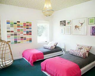 desain interior kamar tidur tidur anak sederhana