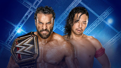 Jinder Mahal vs Shinsuke Nakamura Hell in a Cell 2017 WWE Championship