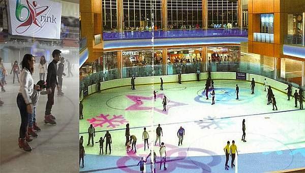 ice skating di jakarta