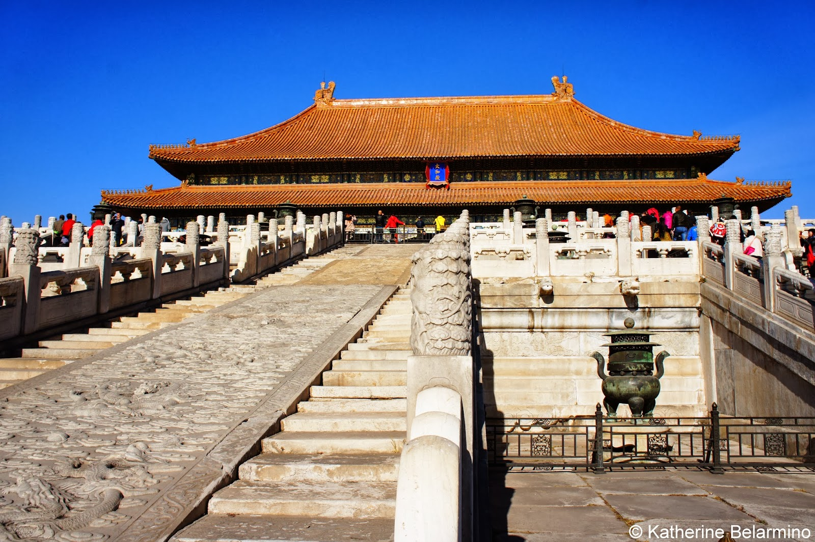 Hall of Supreme Harmony Forbidden City Beijing China