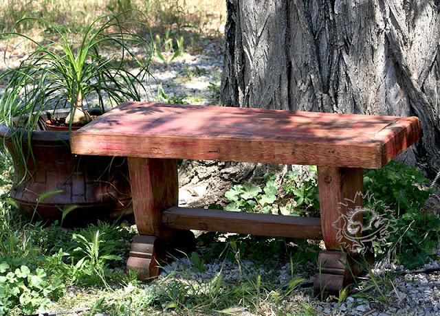 amadera meuble et d coration le charme thique du mexique authentique un banc au jardin pour. Black Bedroom Furniture Sets. Home Design Ideas