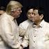 Trump, popondohan ang 'war on drugs' ni Duterte
