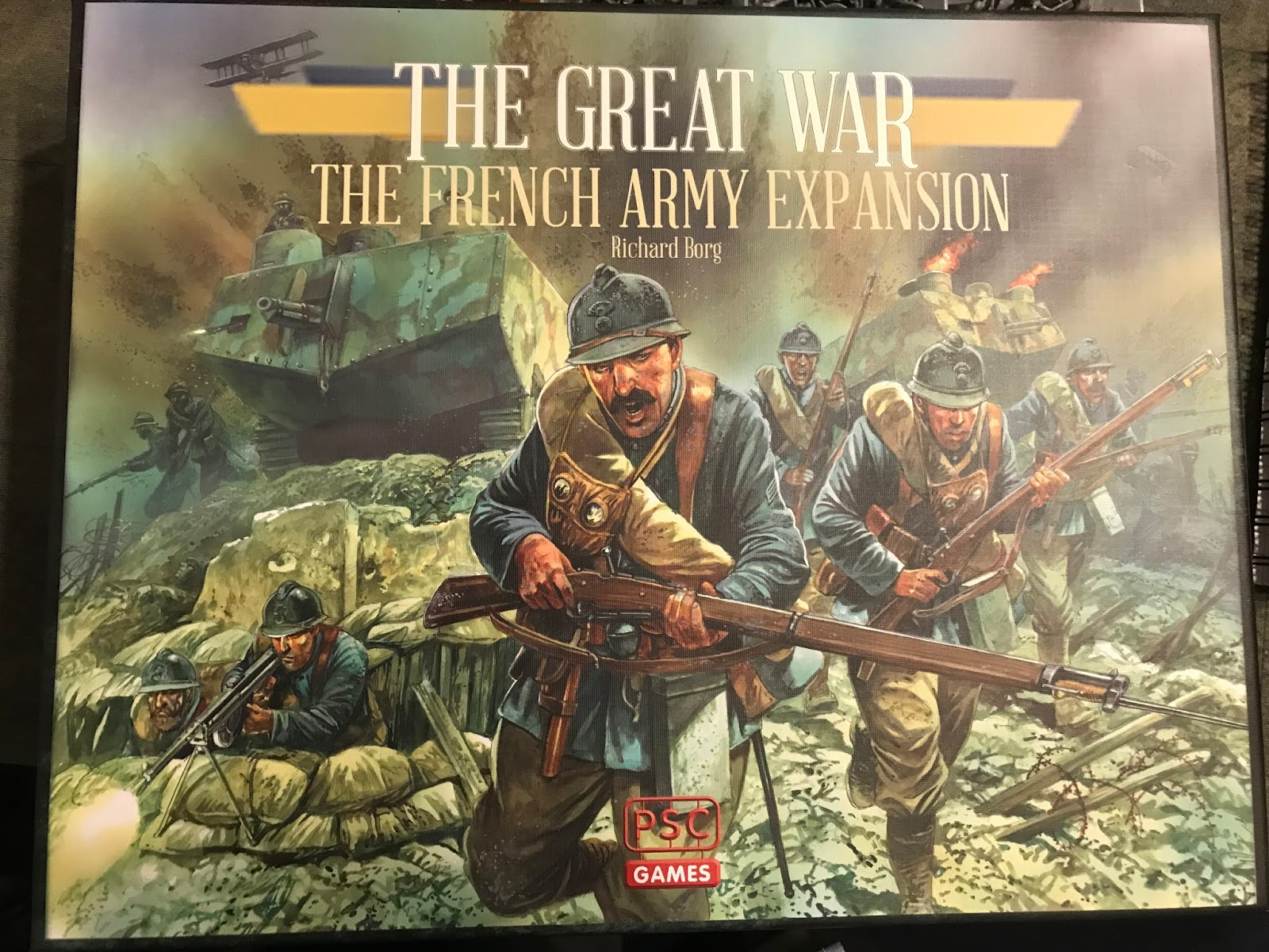 Tim's Tanks: PSC's The Great War - The French Army Expansion