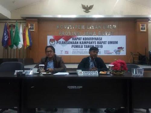 Rakor KPU Jawa Barat