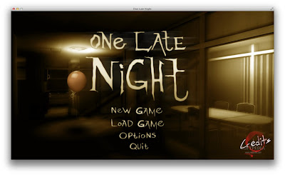 One Late Night - Game de horror para Linux
