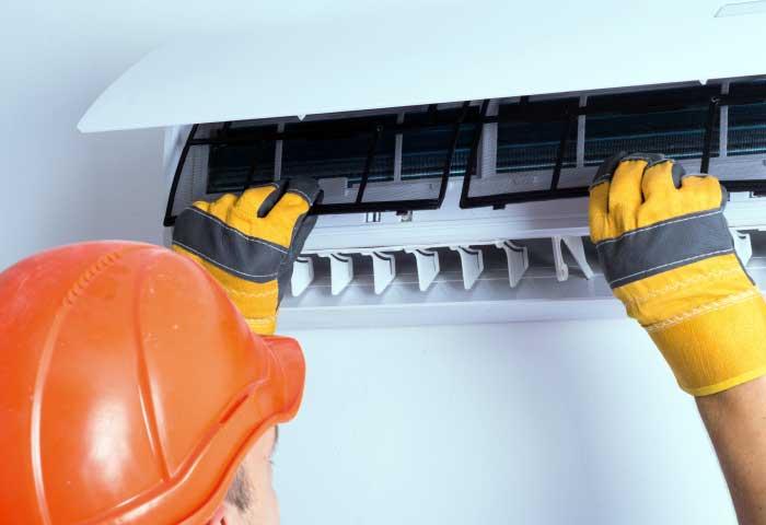Instalaciones eléctricas residenciales - Mantenimiento de un aire acondicionado