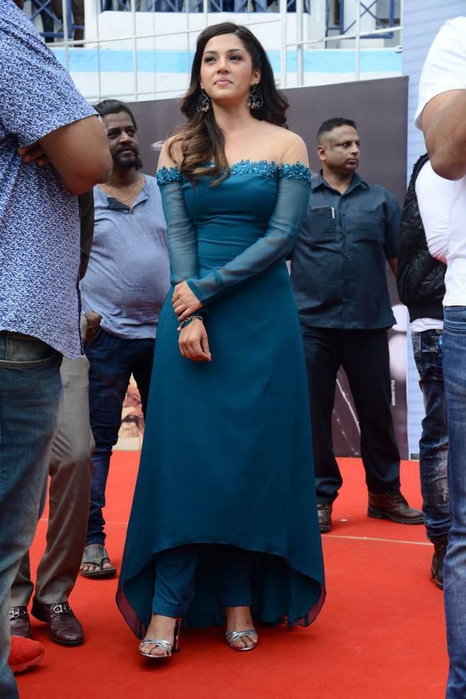 Mehreen Kaur At Mahanubhavudu Movie Song Launch