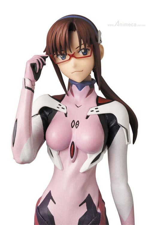 FIGURA MAKINAMI MARI ILLUSTRIOUS PLUG SUIT 3.0 Ver. REAL ACTION HEROES EVANGELION 3.0