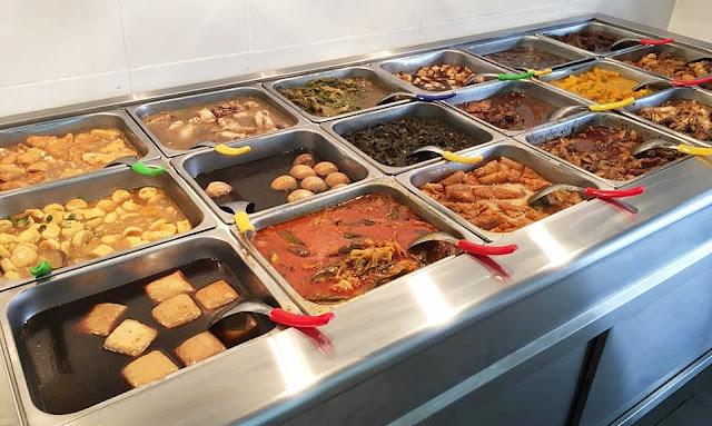 RESTORAN YUAN ZHI WEI Ori Taste Mix Rice @ Parklane Taman OUG Old Klang Road