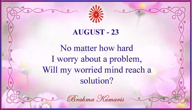 Thought For The Day August 23
