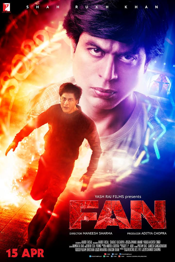 Fan (2016) Hindi Movie DVDRip 480p Download In 300MB