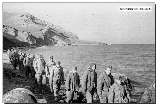 German POW  Crimea. 1944.