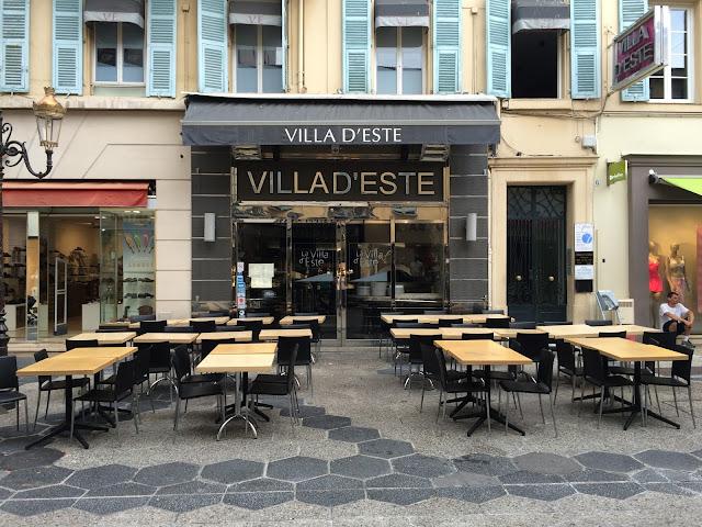 Restaurante Villa d'Este em Nice
