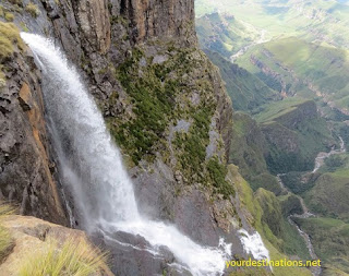 Tugela Waterfall (Tugela Falls)